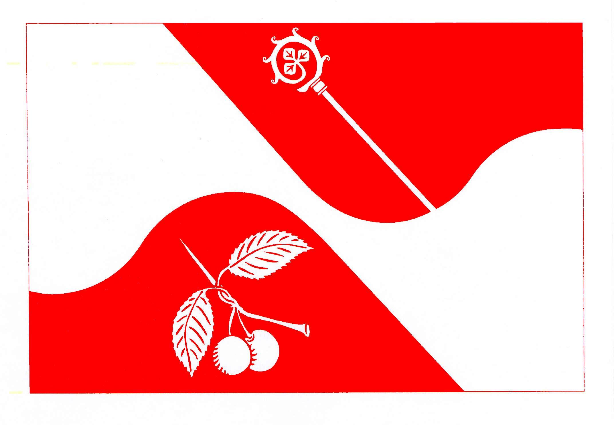 Flagge GemeindeMönkhagen, Kreis Stormarn