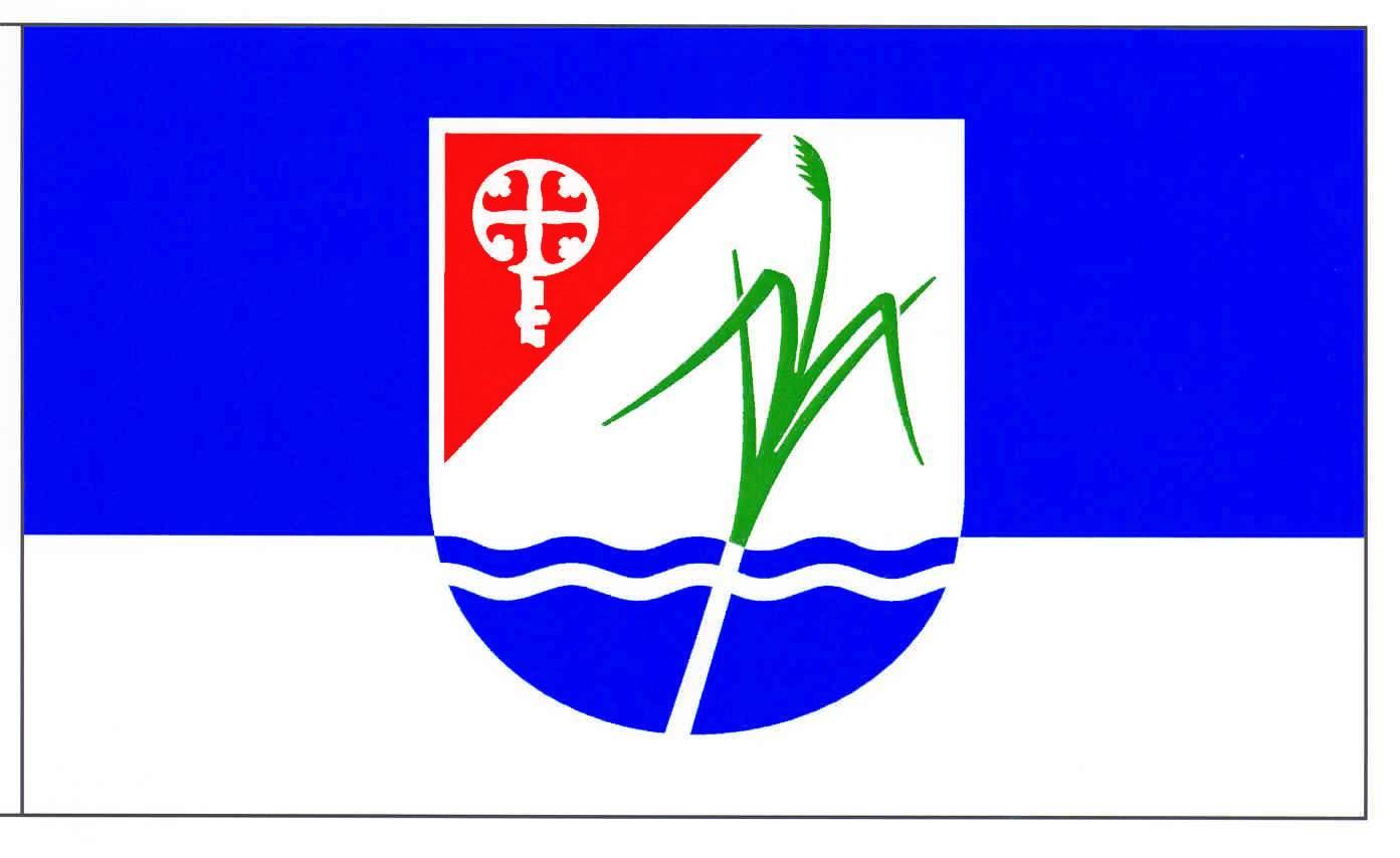 Flagge GemeindeMözen, Kreis Segeberg