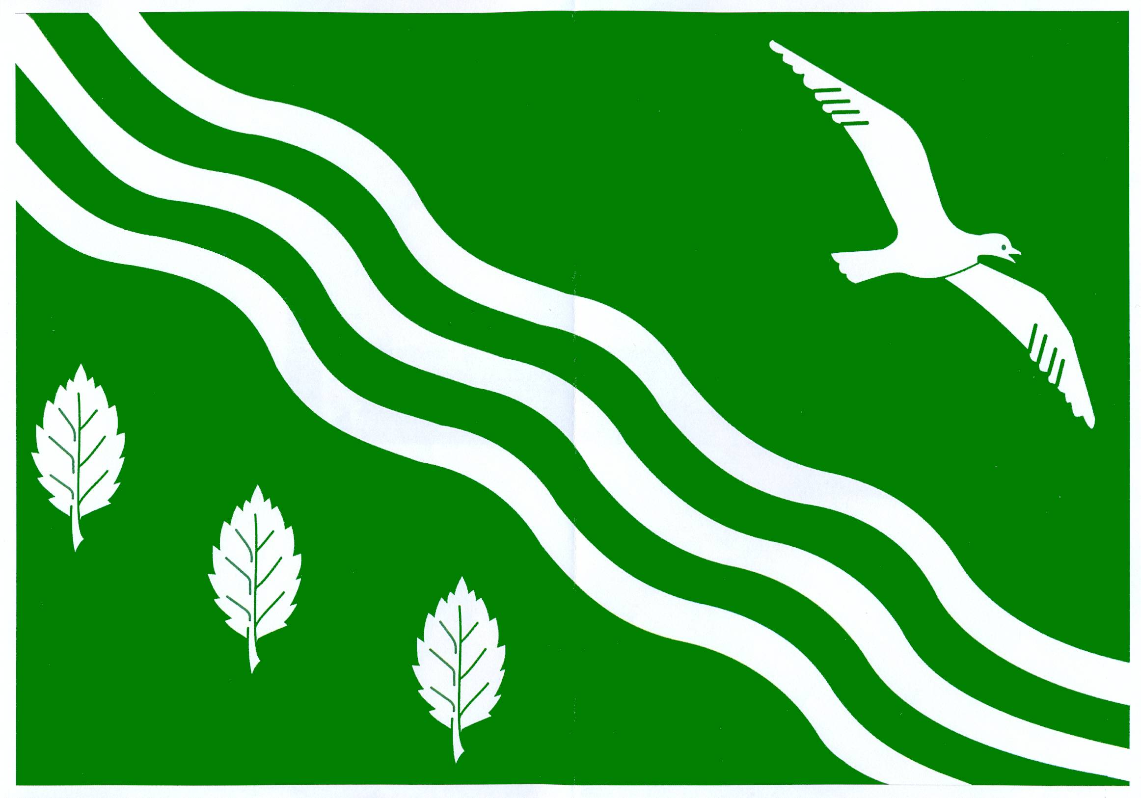 Flagge GemeindeMolfsee, Kreis Rendsburg-Eckernförde
