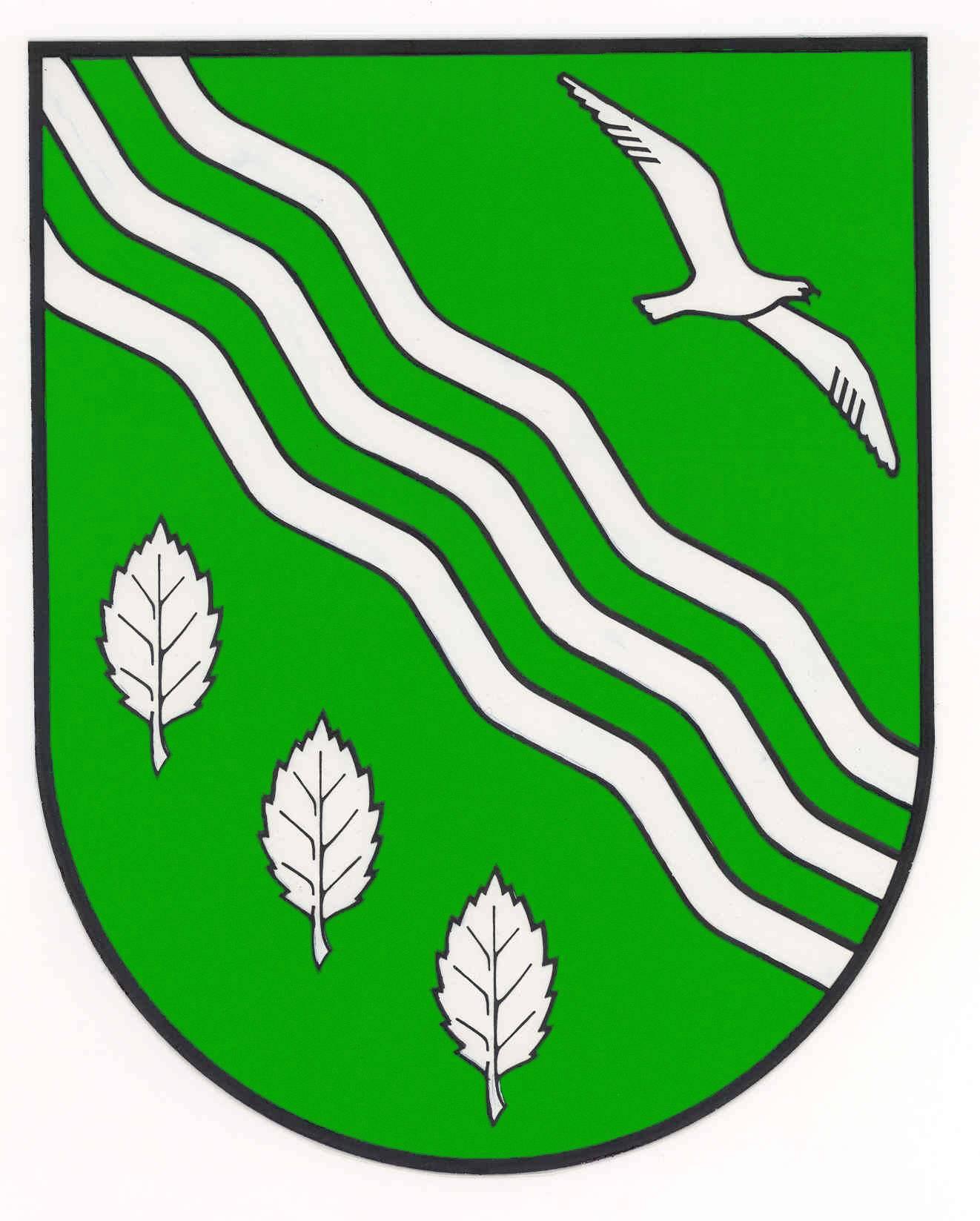 Wappen GemeindeMolfsee, Kreis Rendsburg-Eckernförde