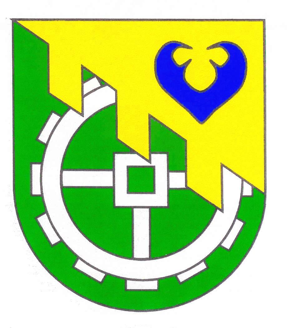 Wappen GemeindeMucheln, Kreis Plön