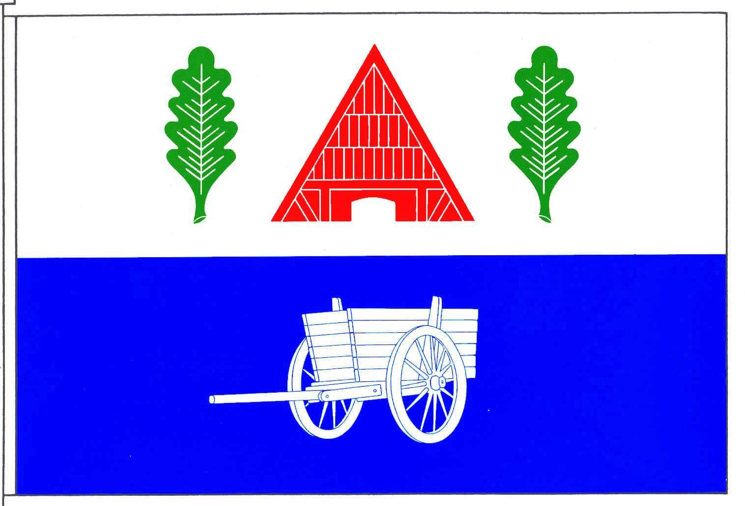 Flagge GemeindeMühbrook, Kreis Rendsburg-Eckernförde