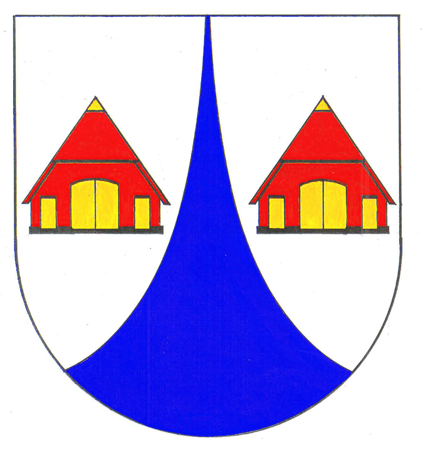 Wappen GemeindeNegernbötel, Kreis Segeberg