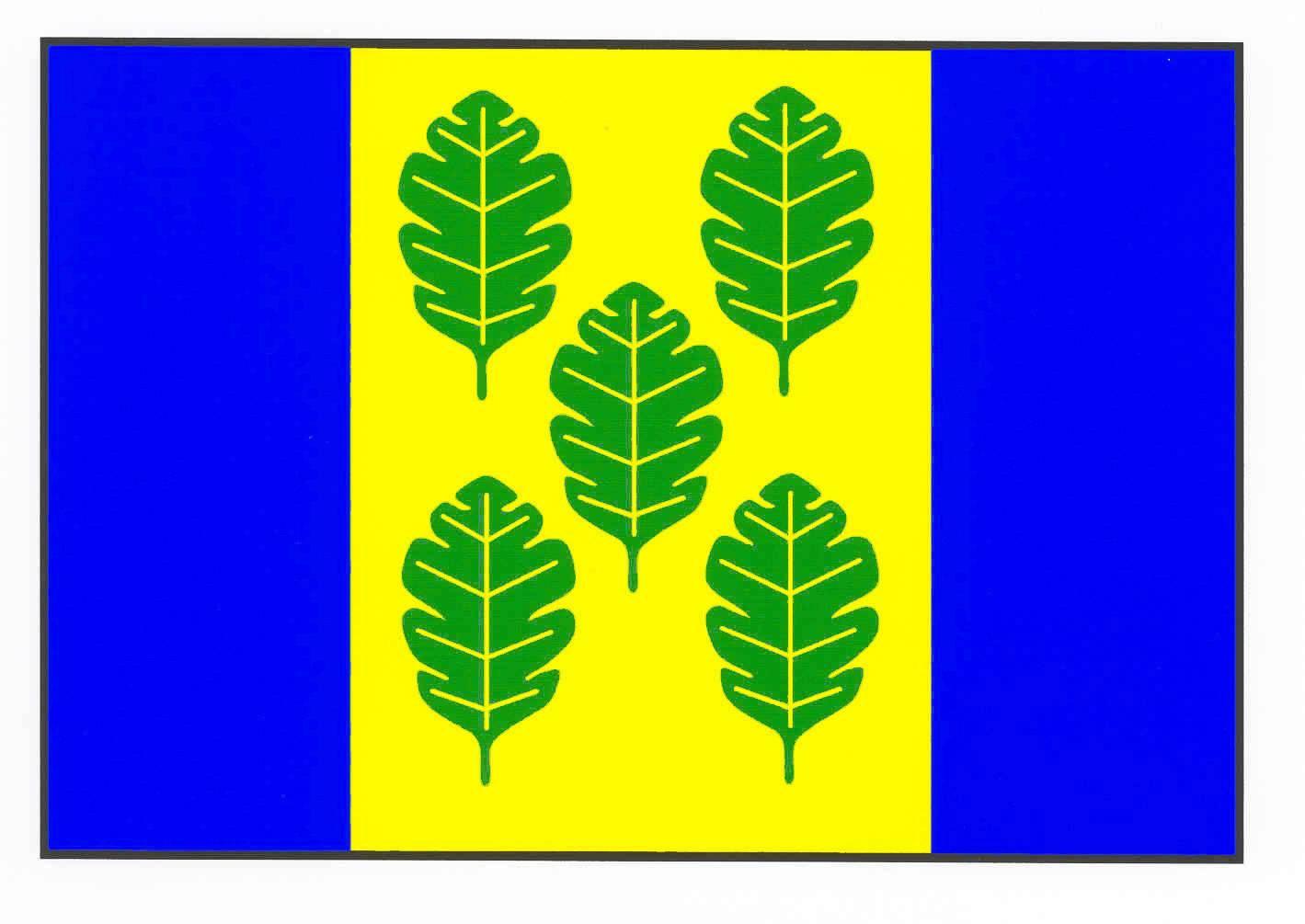 Flagge GemeindeNehmten, Kreis Plön