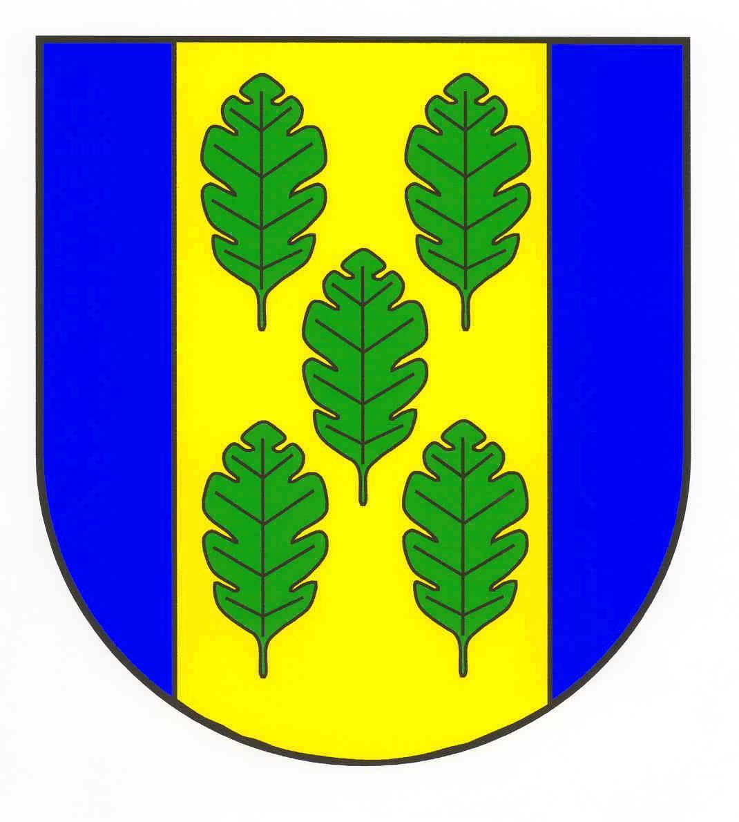 Wappen GemeindeNehmten, Kreis Plön