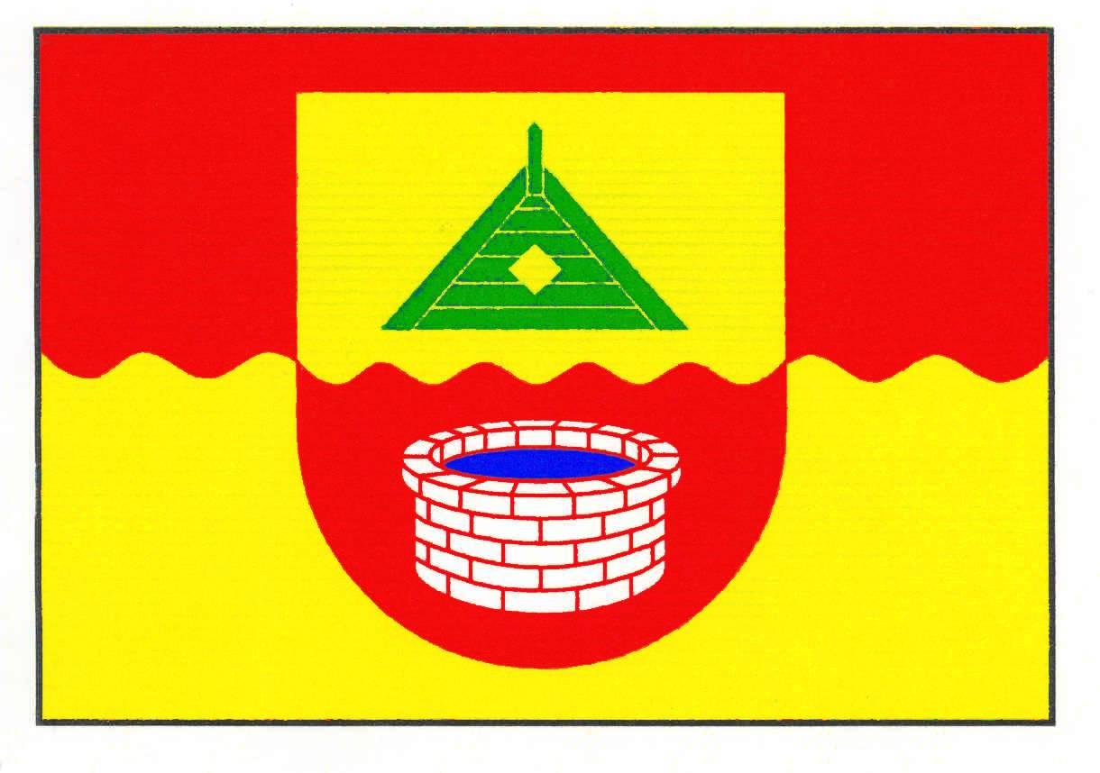 Flagge GemeindeNeudorf-Bornstein, Kreis Rendsburg-Eckernförde