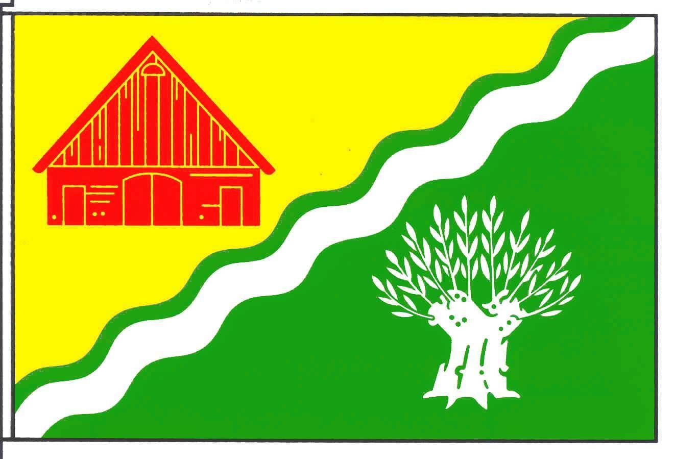 Flagge GemeindeNeuendeich, Kreis Pinneberg