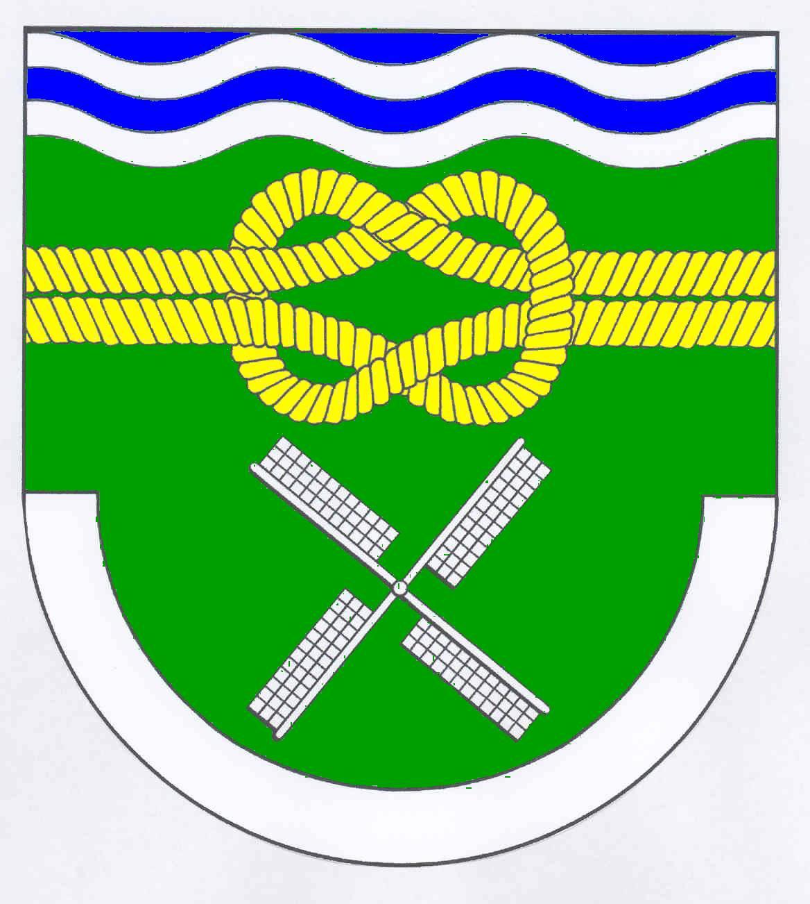 Wappen GemeindeNeuendorf-Sachsenbande, Kreis Steinburg