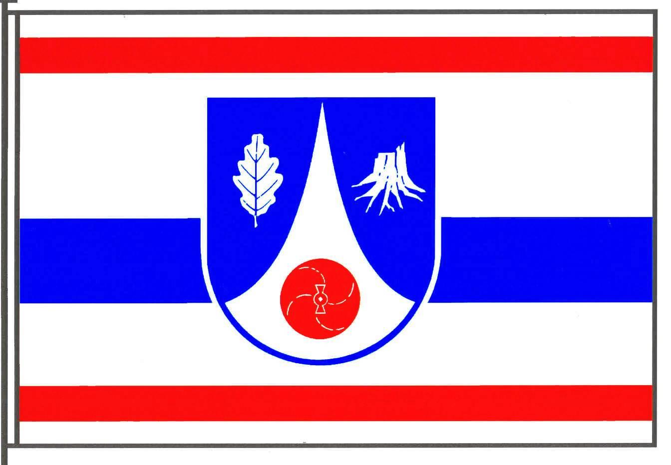 Flagge GemeindeNeuengörs, Kreis Segeberg