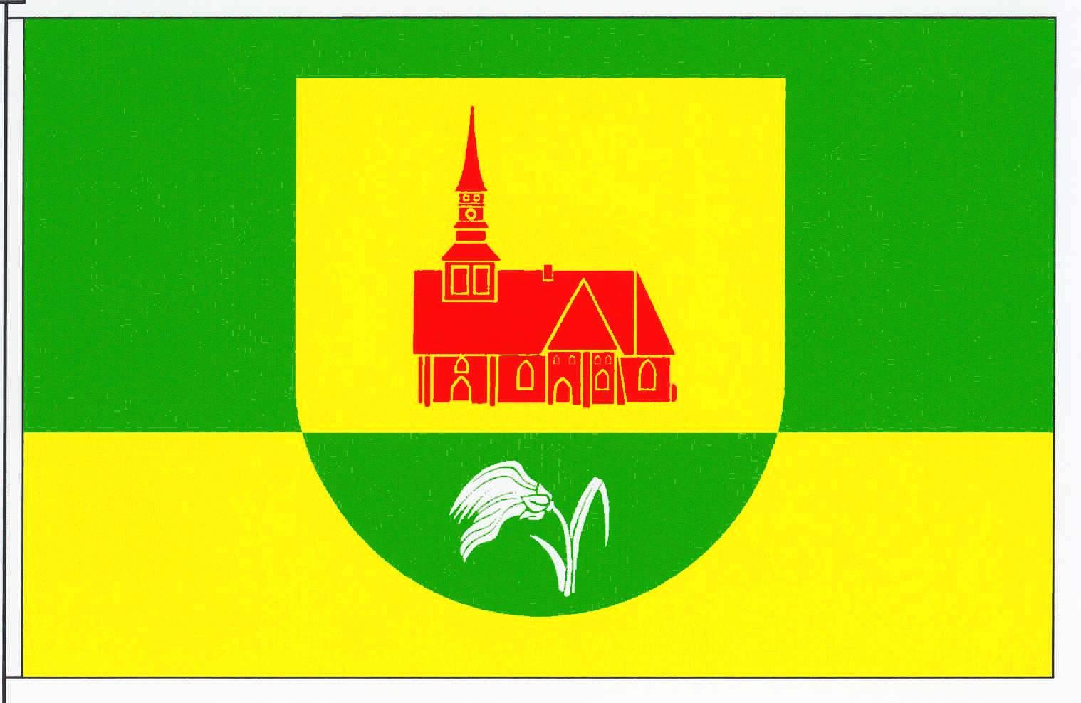 Flagge GemeindeNeuenkirchen, Kreis Dithmarschen