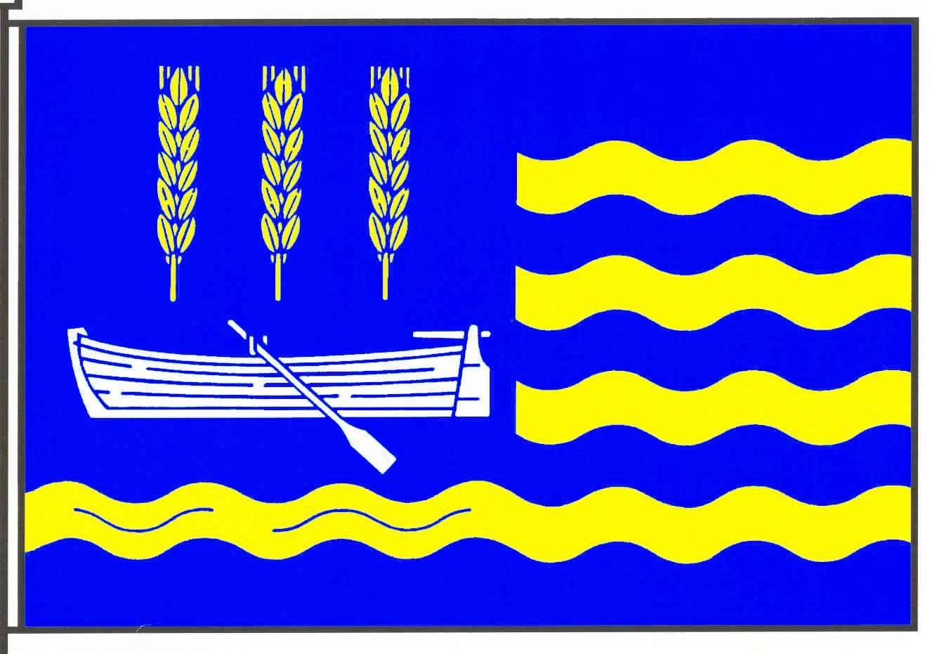 Flagge GemeindeNeufeld, Kreis Dithmarschen