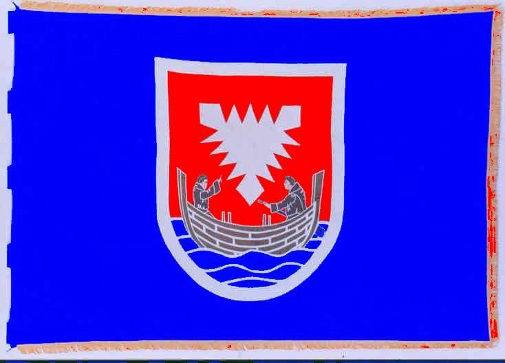 Flagge StadtNeustadt in Holstein, Kreis Ostholstein