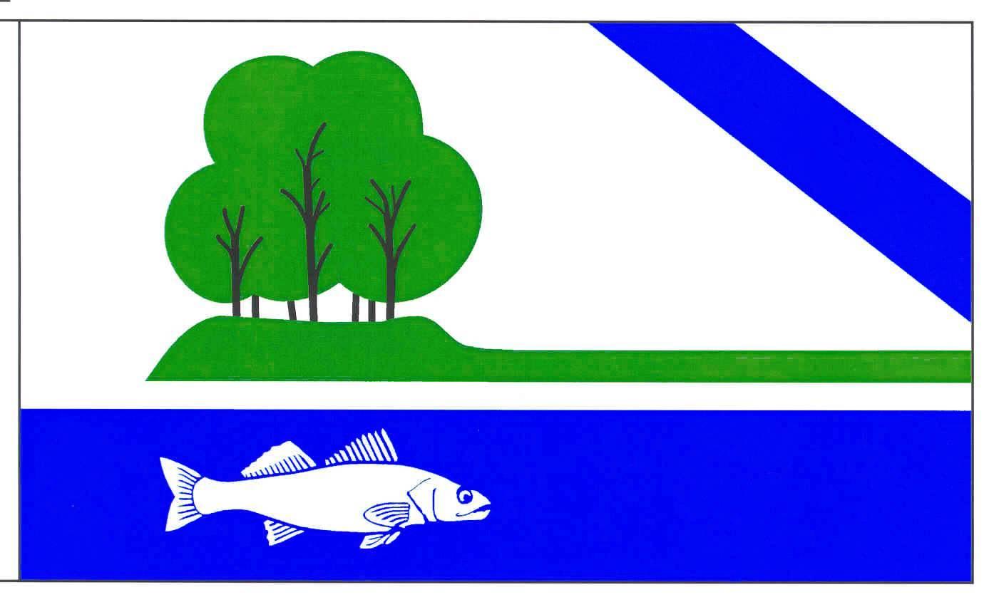 Flagge GemeindeNeversdorf, Kreis Segeberg