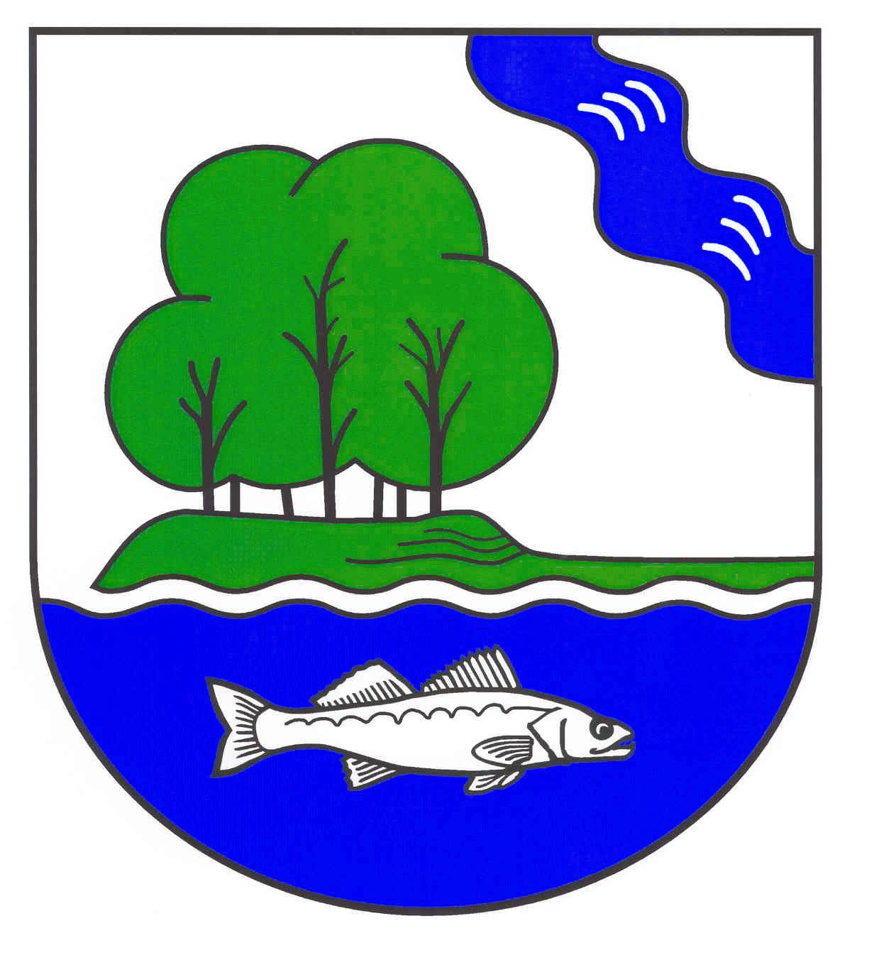 Wappen GemeindeNeversdorf, Kreis Segeberg