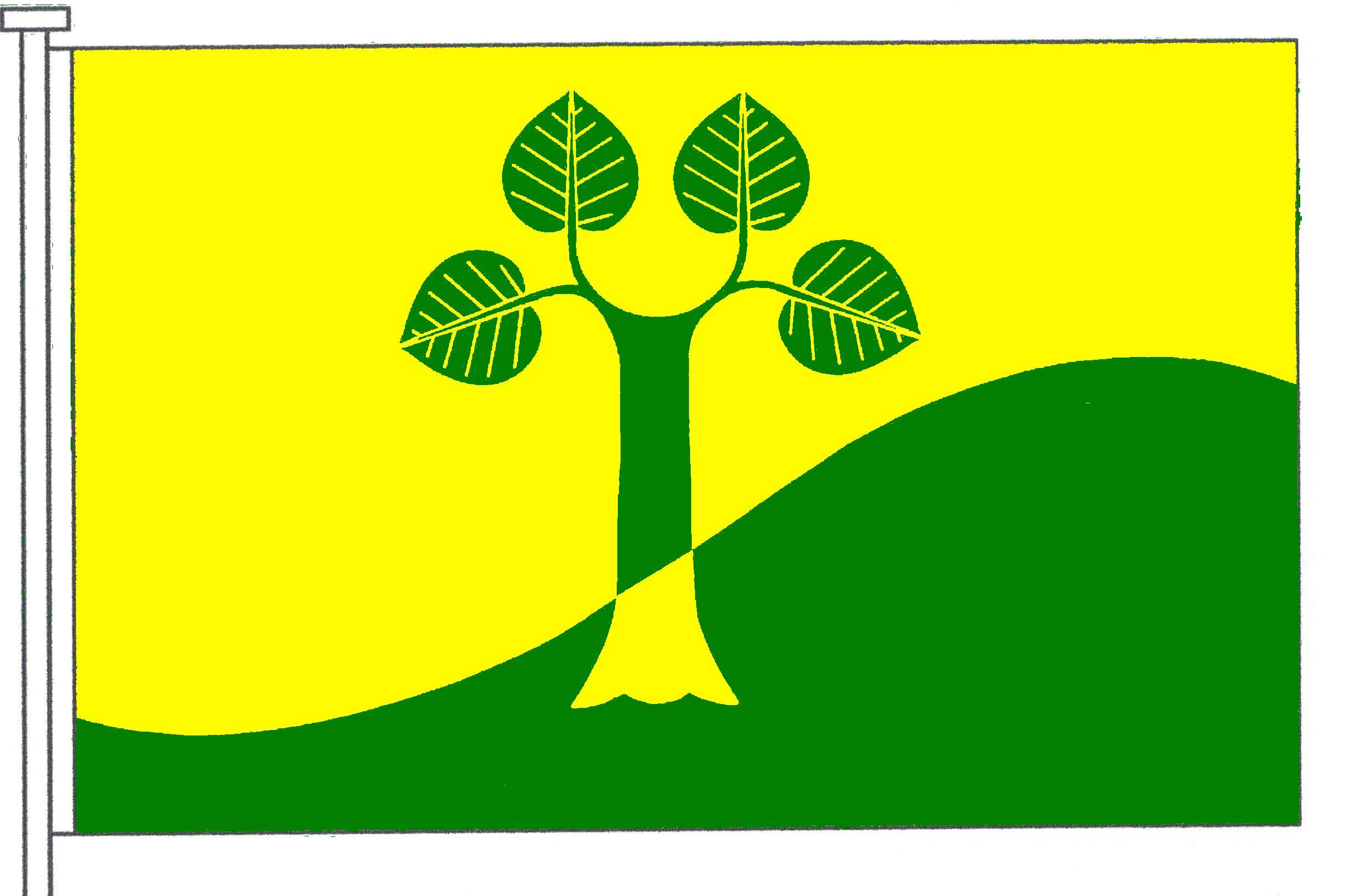 Flagge GemeindeNienborstel, Kreis Rendsburg-Eckernförde