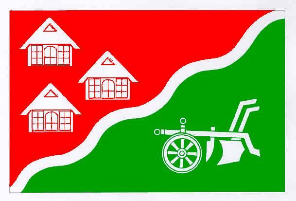 Flagge GemeindeNienbüttel, Kreis Steinburg