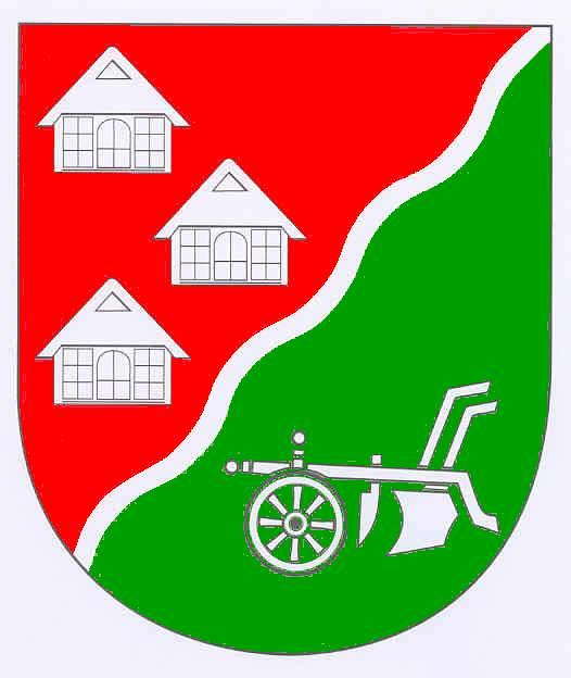 Wappen GemeindeNienbüttel, Kreis Steinburg
