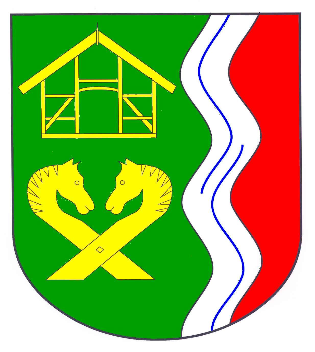 Wappen GemeindeNiendorf bei Berkenthin, Kreis Herzogtum Lauenburg