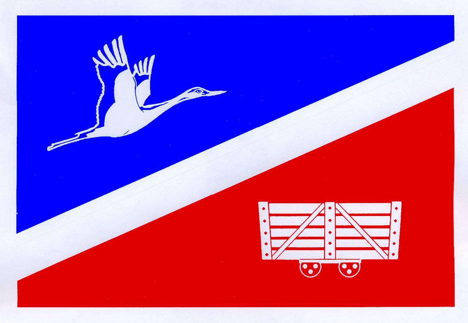 Flagge GemeindeNienwohld, Kreis Stormarn