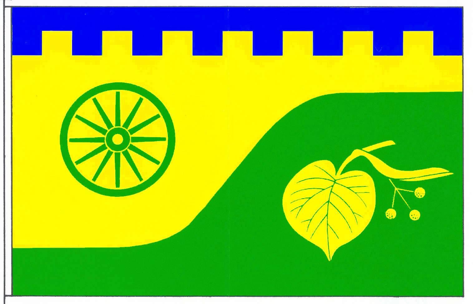 Flagge GemeindeNoer, Kreis Rendsburg-Eckernförde