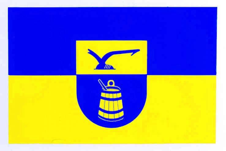 Flagge GemeindeNordhackstedt, Kreis Schleswig-Flensburg