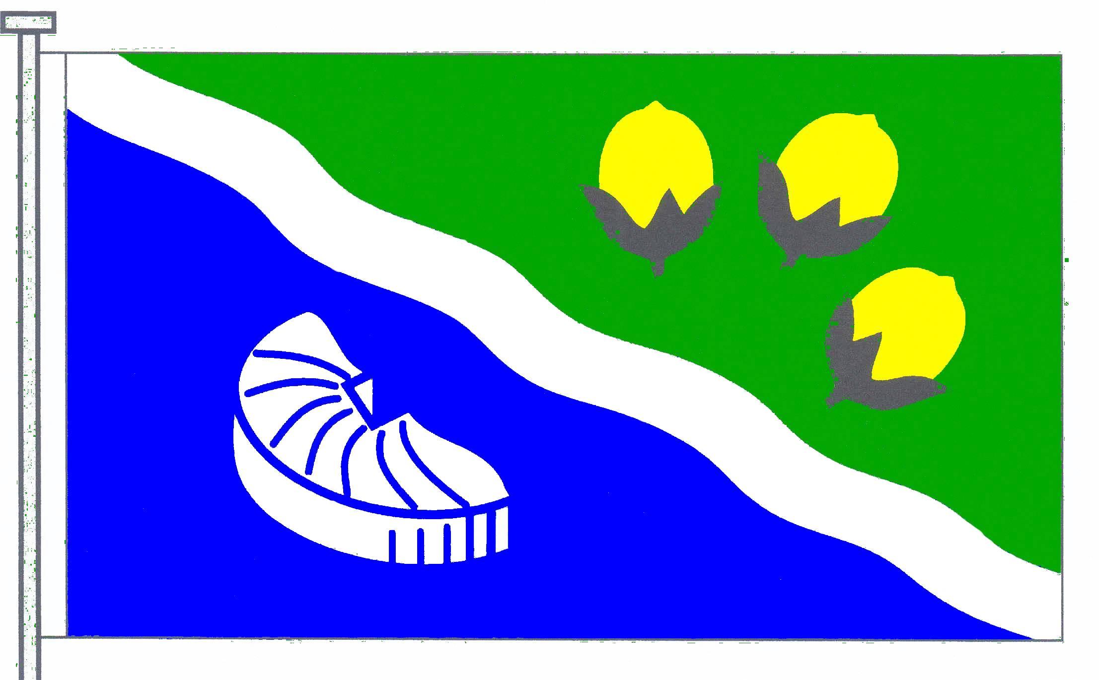 Flagge GemeindeNützen, Kreis Segeberg