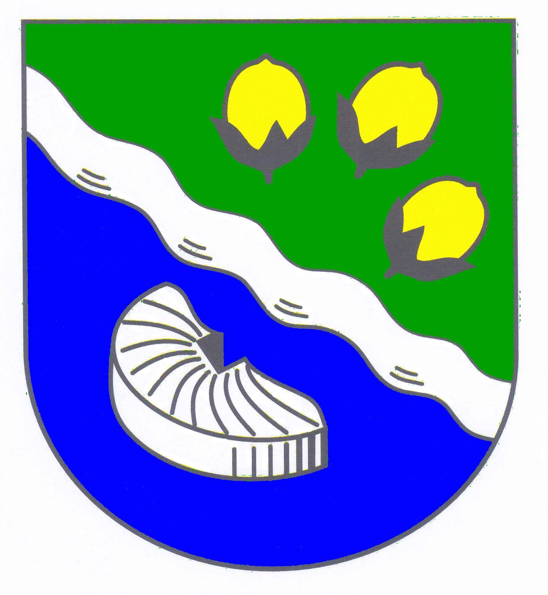 Wappen GemeindeNützen, Kreis Segeberg