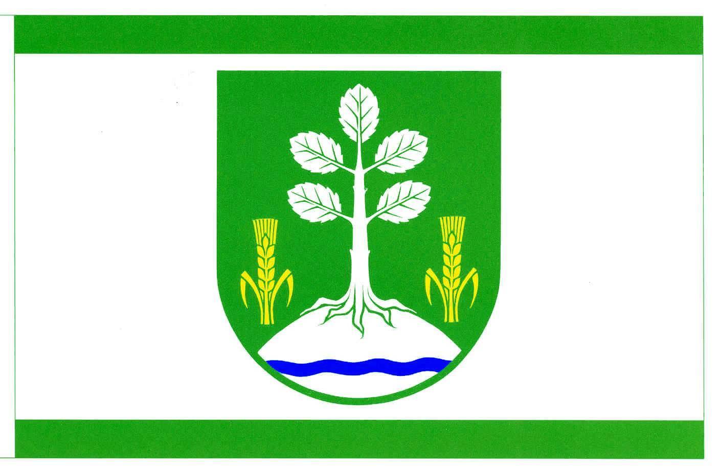 Flagge GemeindeOelixdorf, Kreis Steinburg
