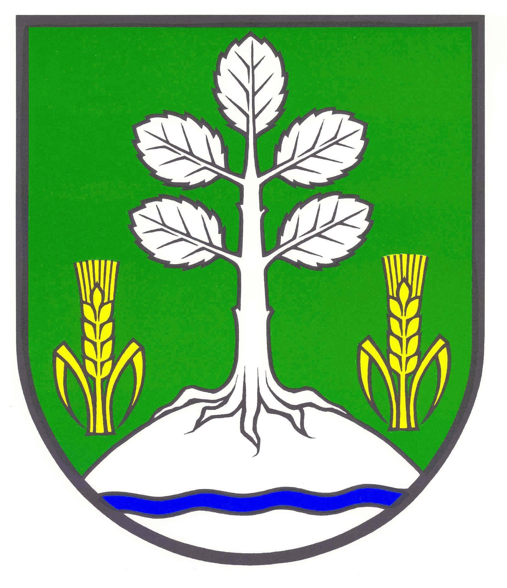 Wappen GemeindeOelixdorf, Kreis Steinburg