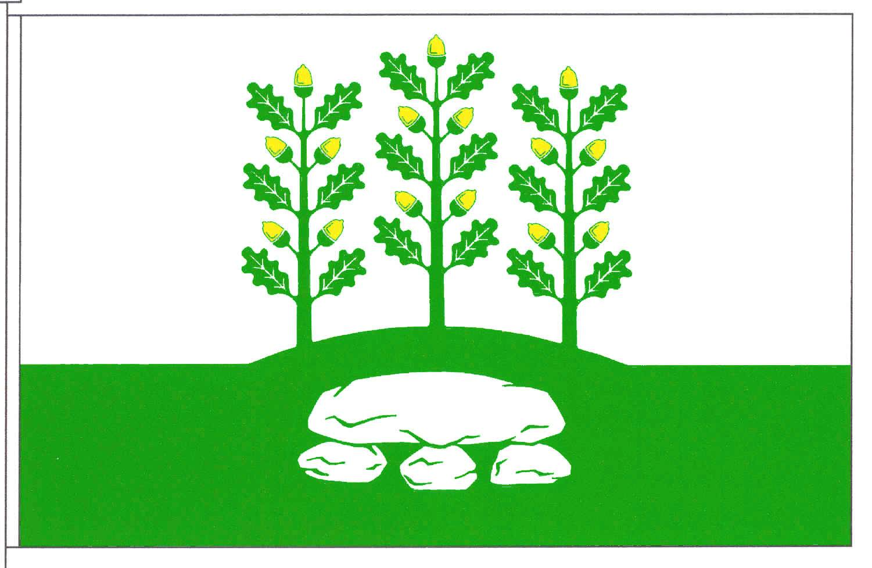 Flagge GemeindeOeschebüttel, Kreis Steinburg