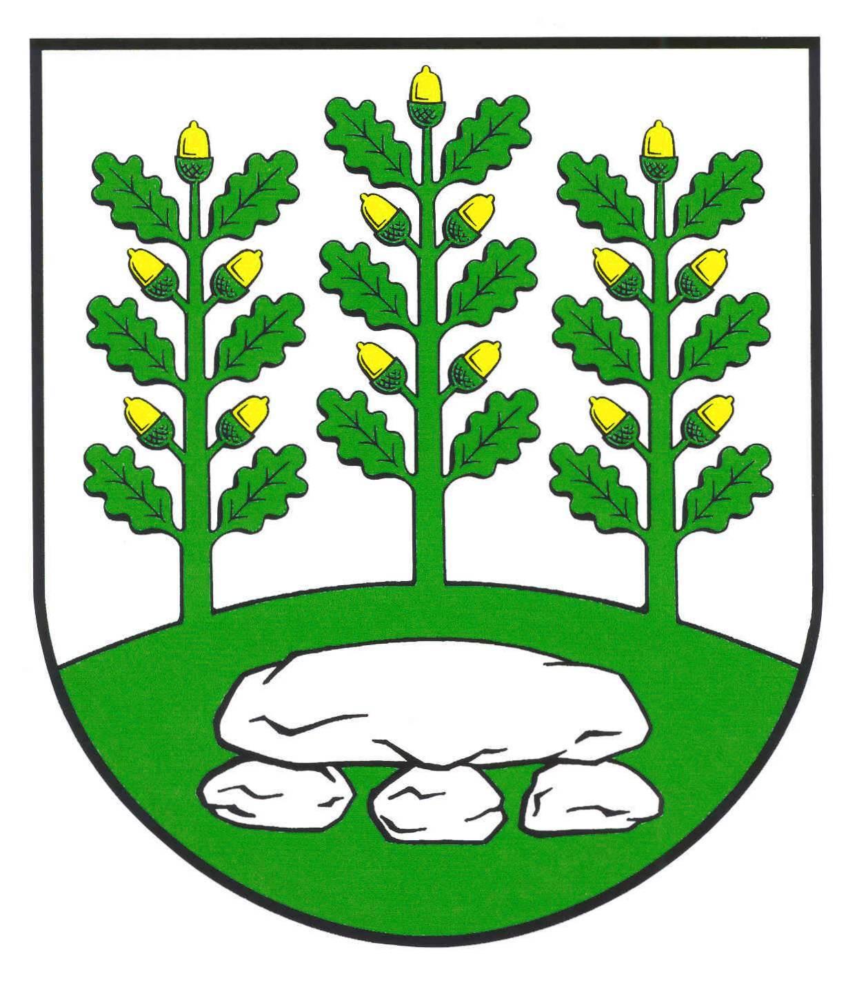 Wappen GemeindeOeschebüttel, Kreis Steinburg