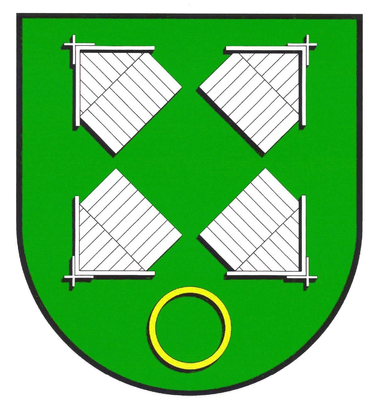 Wappen GemeindeOldenborstel, Kreis Steinburg