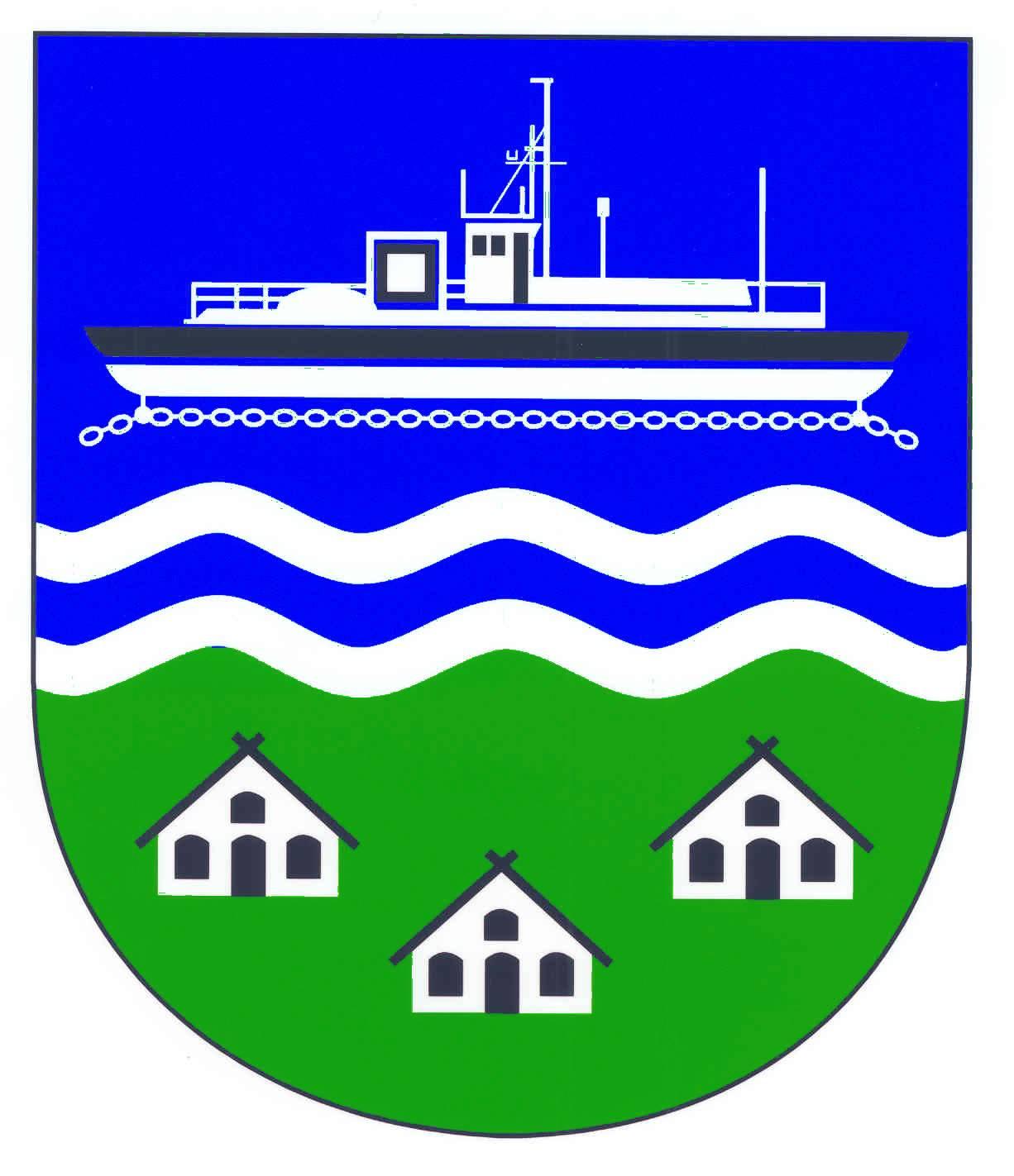 Wappen GemeindeOldenbüttel, Kreis Rendsburg-Eckernförde