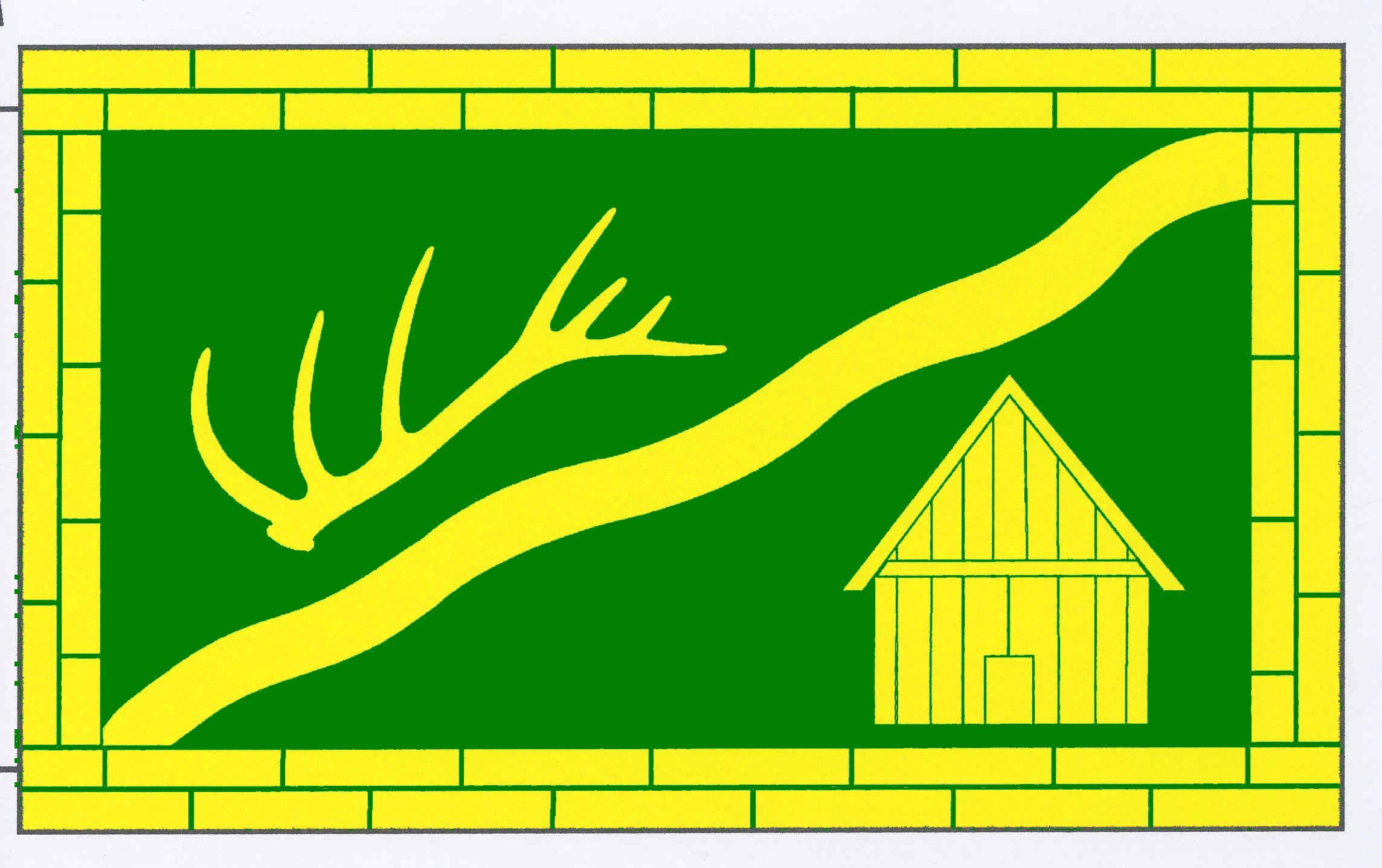 Flagge GemeindeOldenhütten, Kreis Rendsburg-Eckernförde