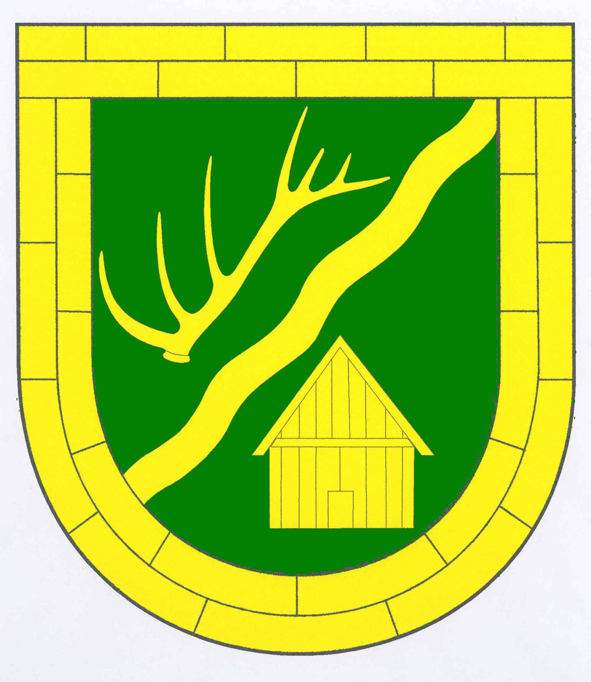 Wappen GemeindeOldenhütten, Kreis Rendsburg-Eckernförde