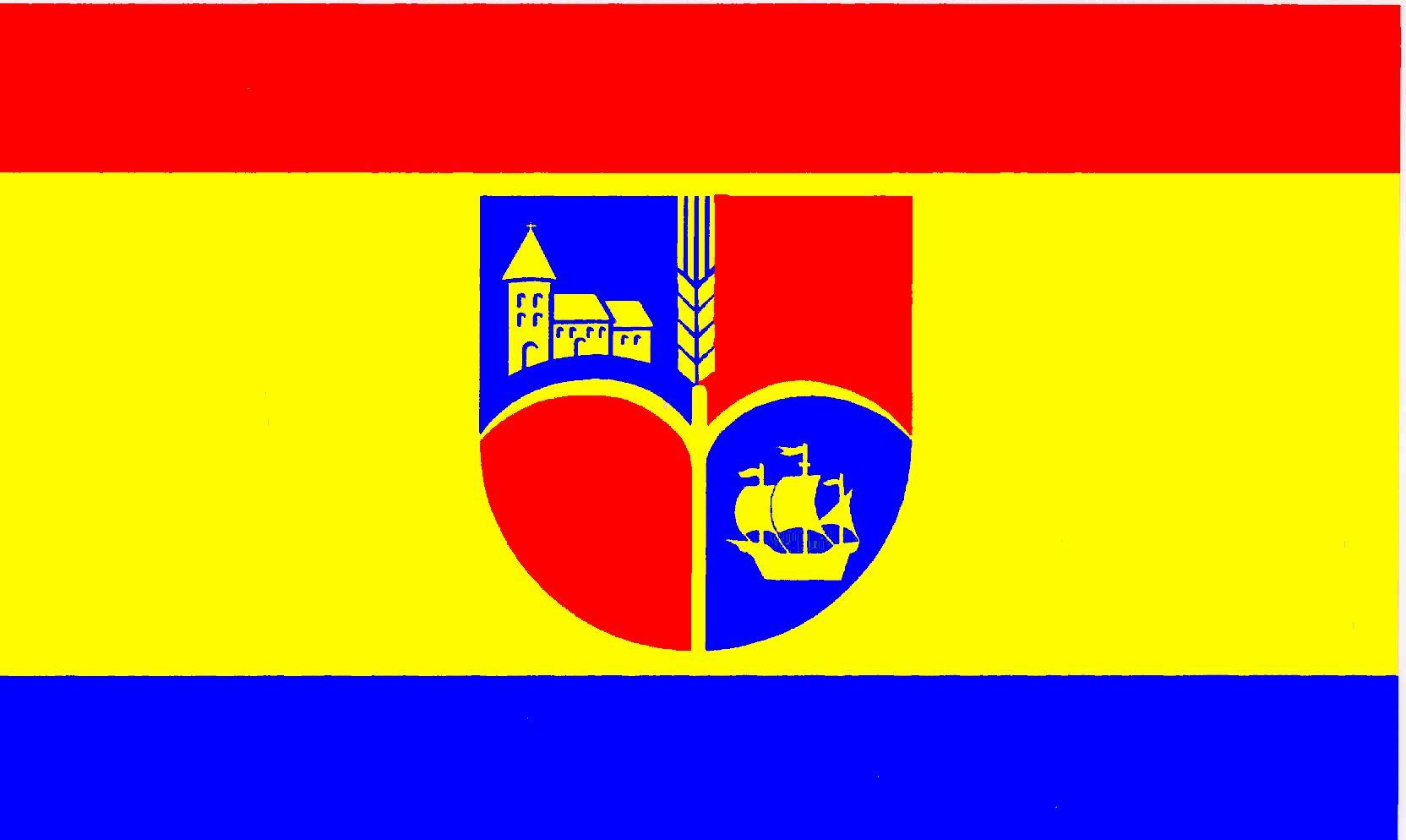 Flagge GemeindeOldenswort, Kreis Nordfriesland