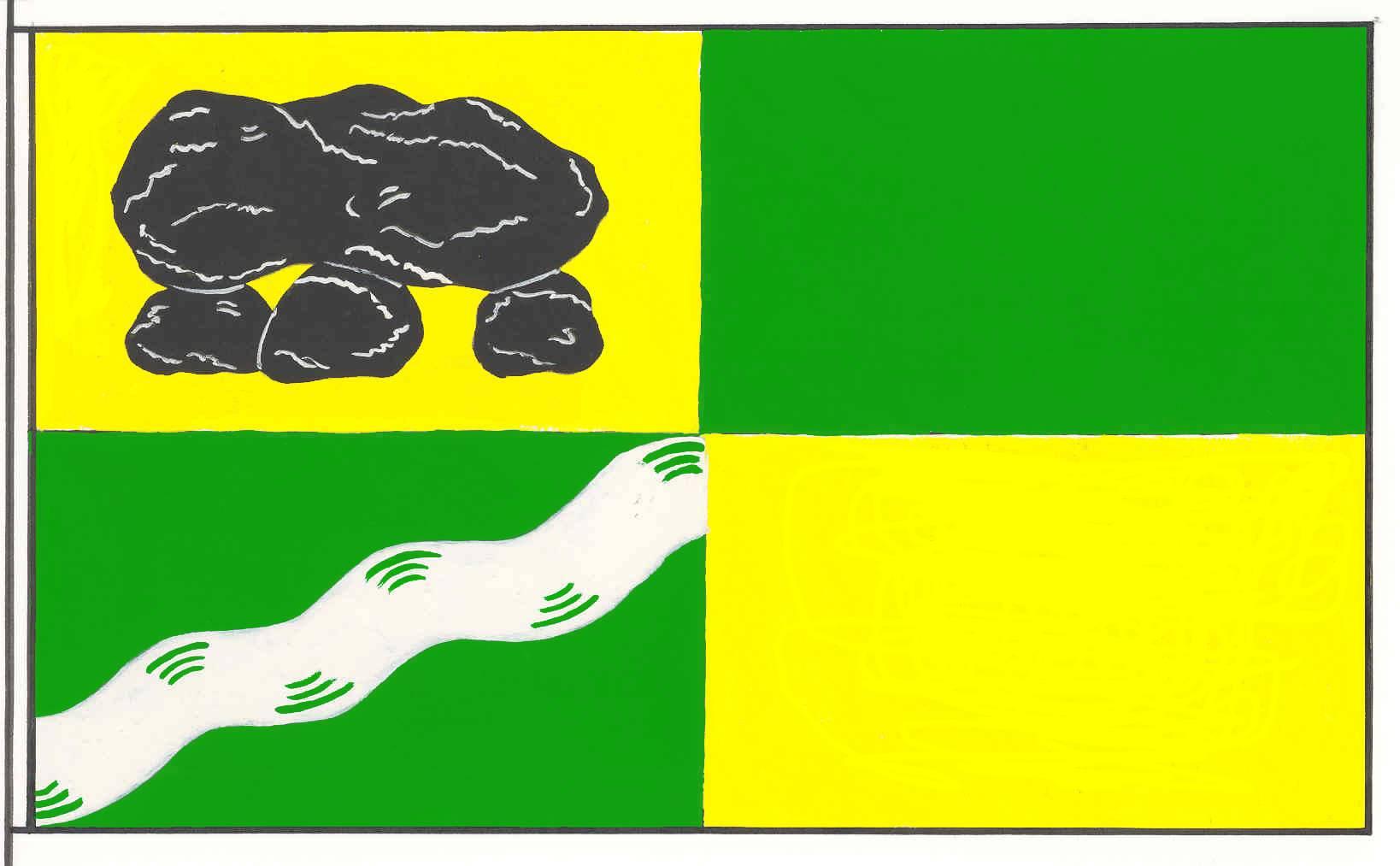 Flagge GemeindeOldersbek, Kreis Nordfriesland
