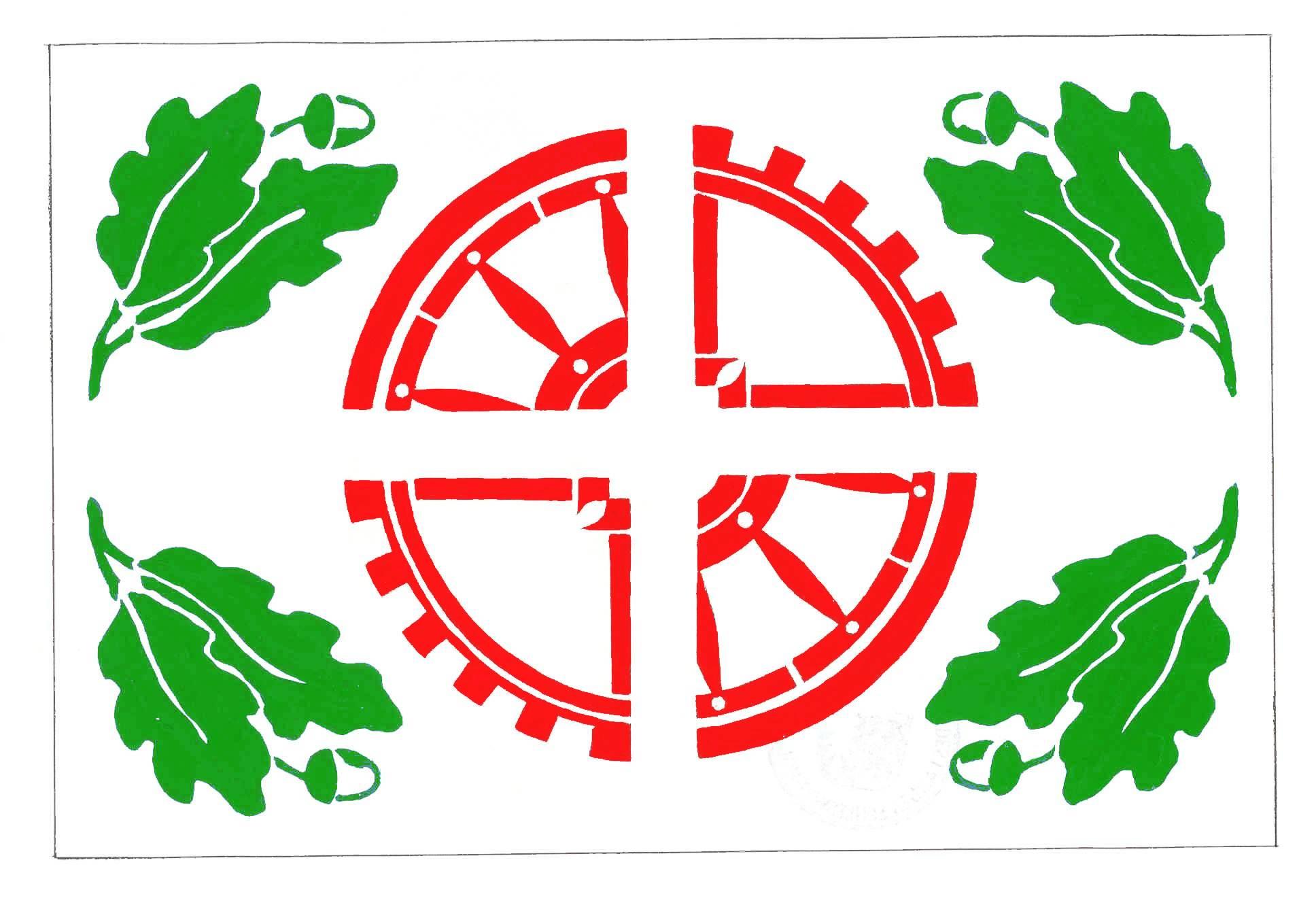 Flagge GemeindeOsdorf, Kreis Rendsburg-Eckernförde
