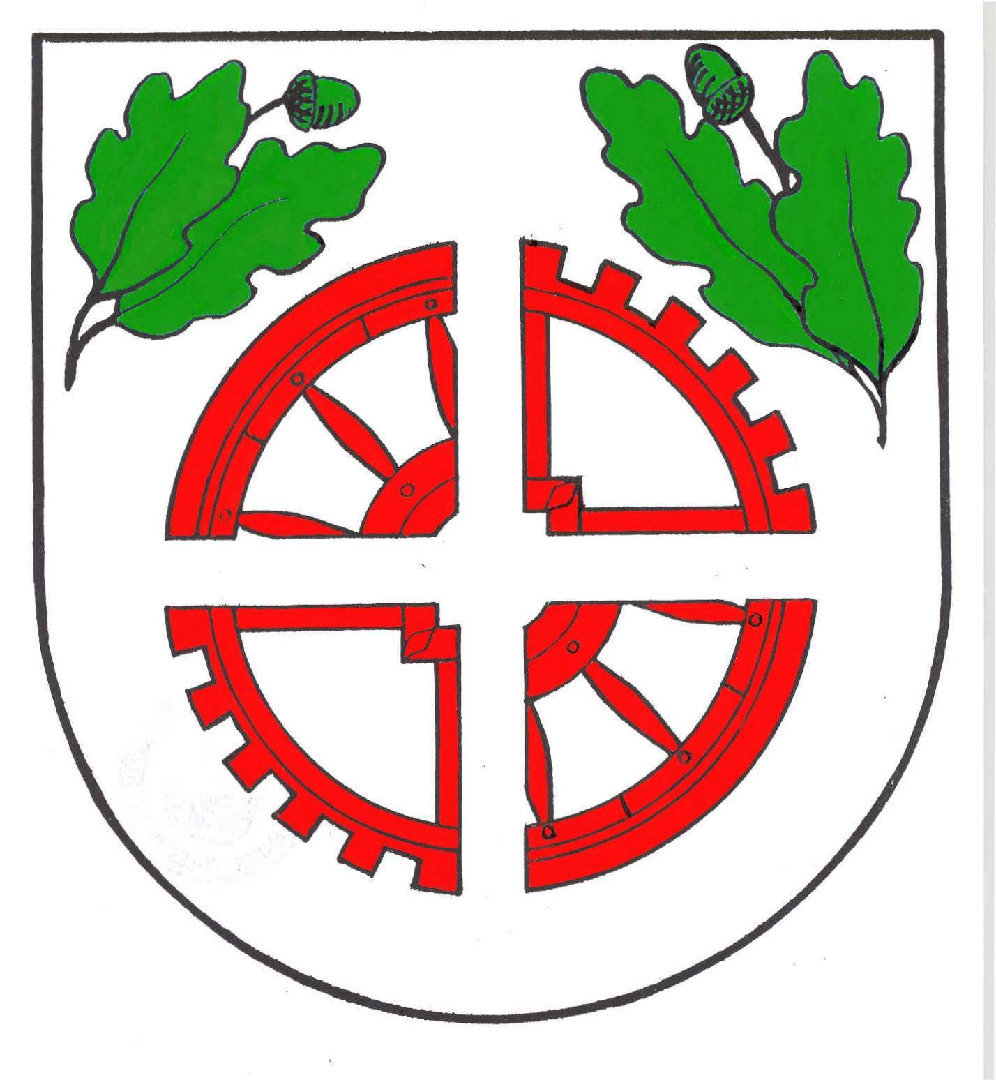 Wappen GemeindeOsdorf, Kreis Rendsburg-Eckernförde