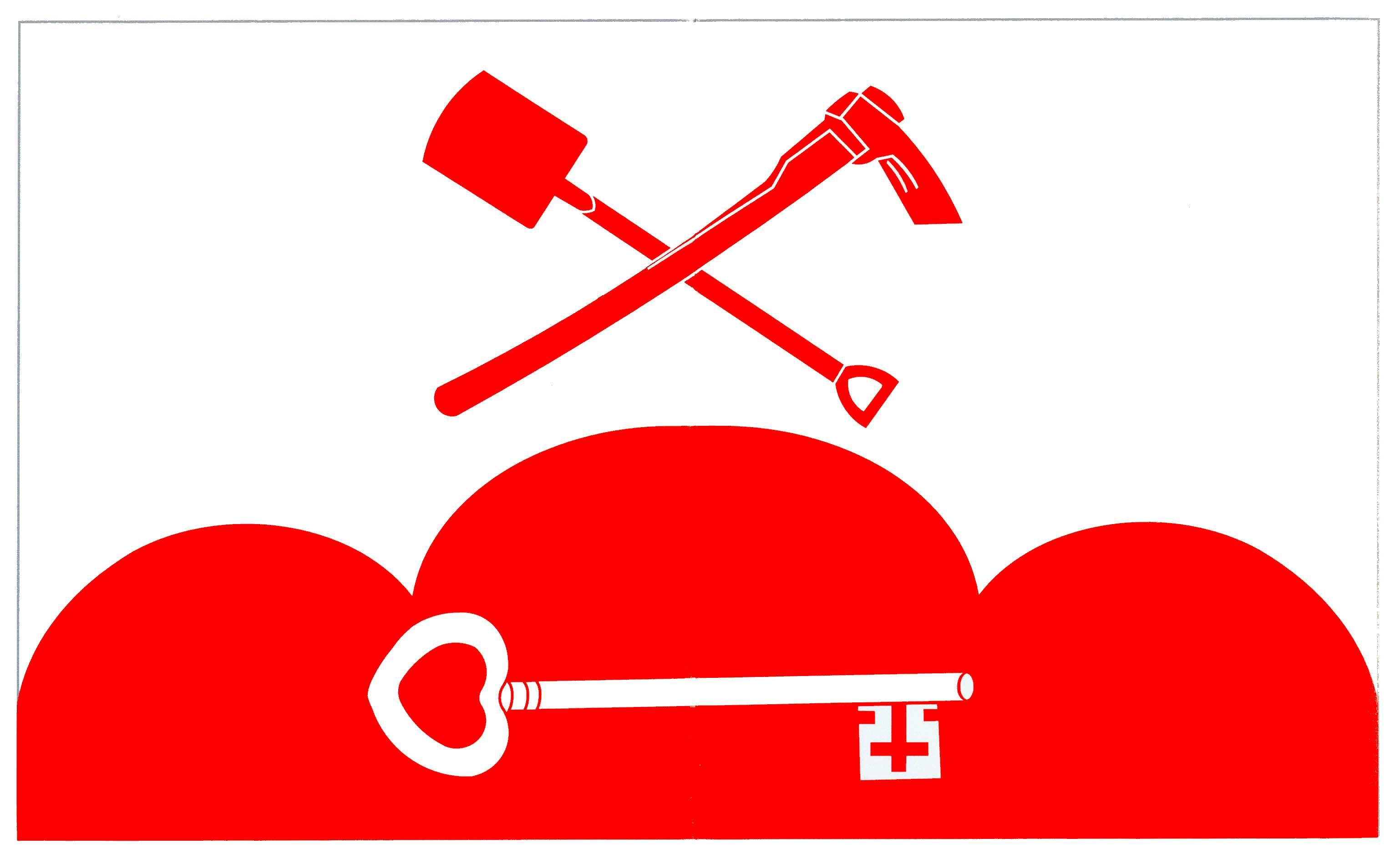 Flagge GemeindeOsterrade, Kreis Dithmarschen