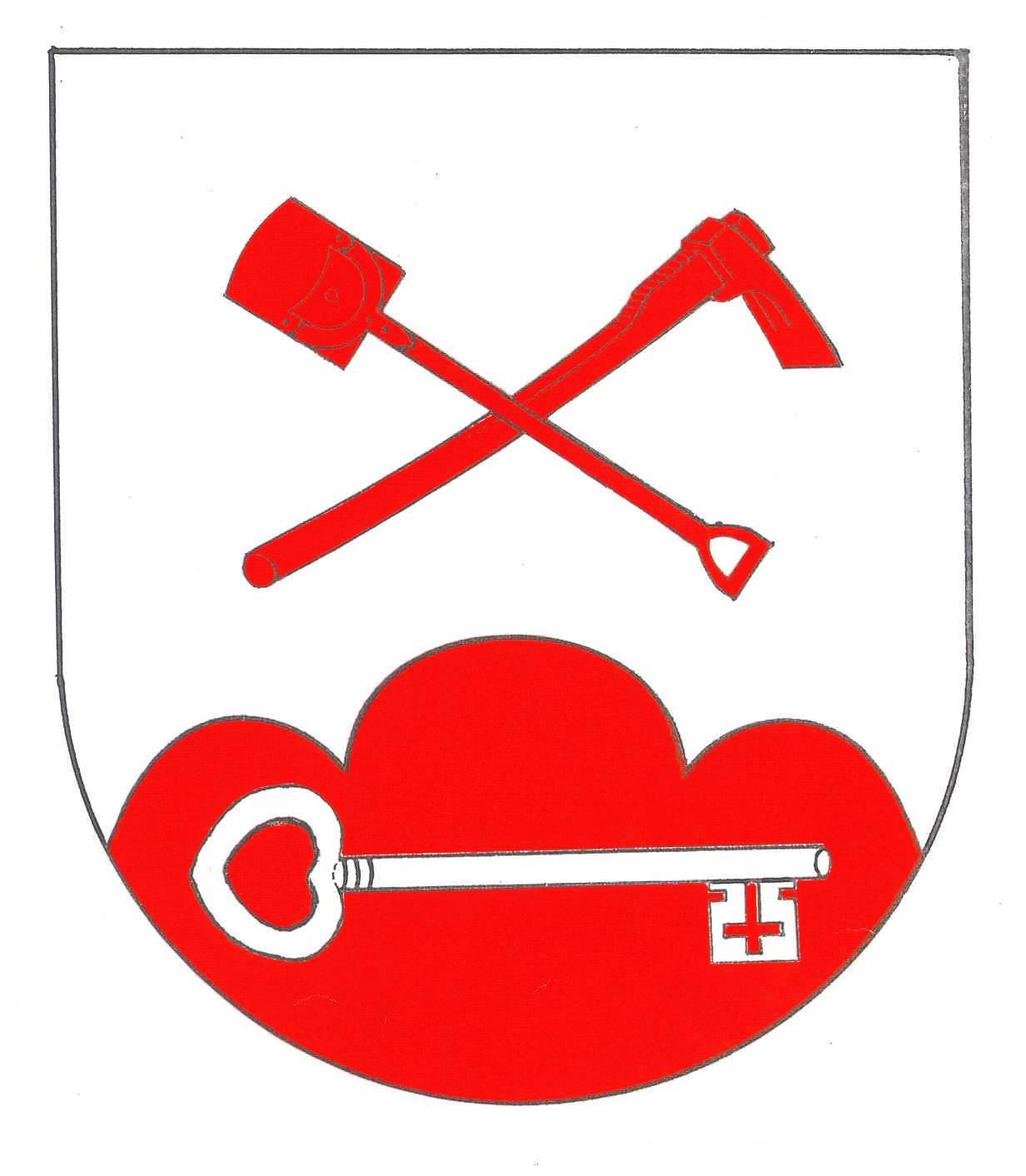 Wappen GemeindeOsterrade, Kreis Dithmarschen
