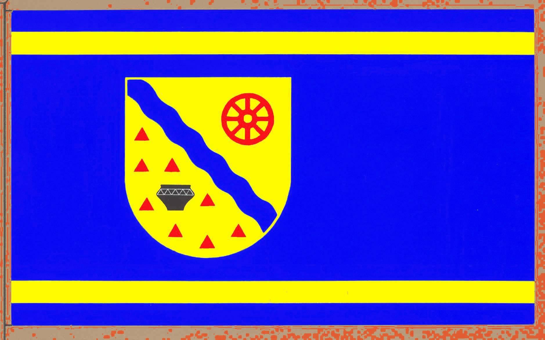 Flagge GemeindeOsterrönfeld, Kreis Rendsburg-Eckernförde
