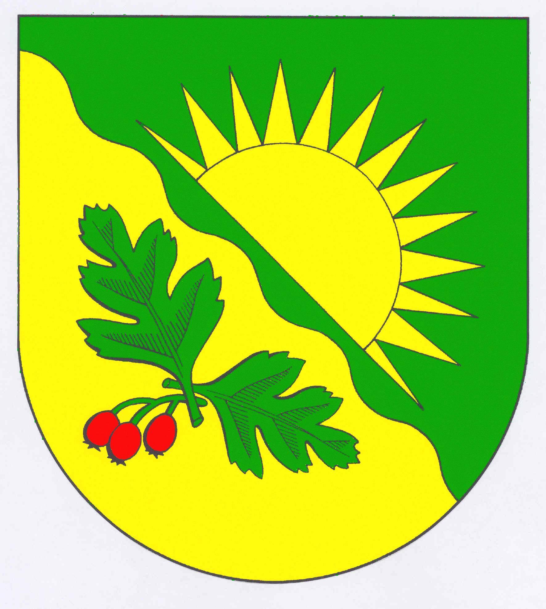 Wappen GemeindeOsterstedt, Kreis Rendsburg-Eckernförde
