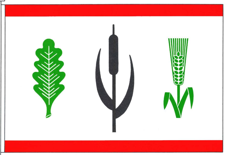 Flagge GemeindeOstrohe, Kreis Dithmarschen