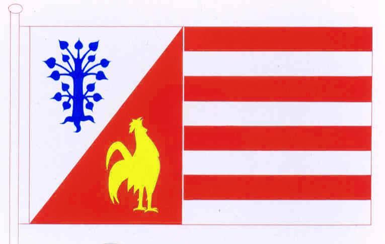 Flagge GemeindeOttenbüttel, Kreis Steinburg