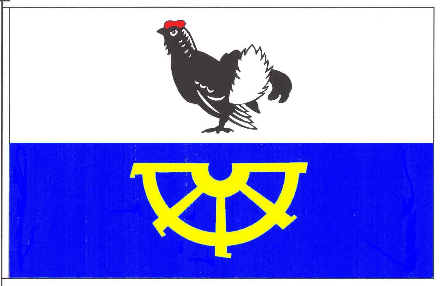 Flagge GemeindeOwschlag, Kreis Rendsburg-Eckernförde