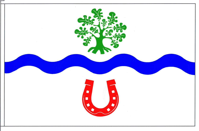 Flagge GemeindePadenstedt, Kreis Rendsburg-Eckernförde