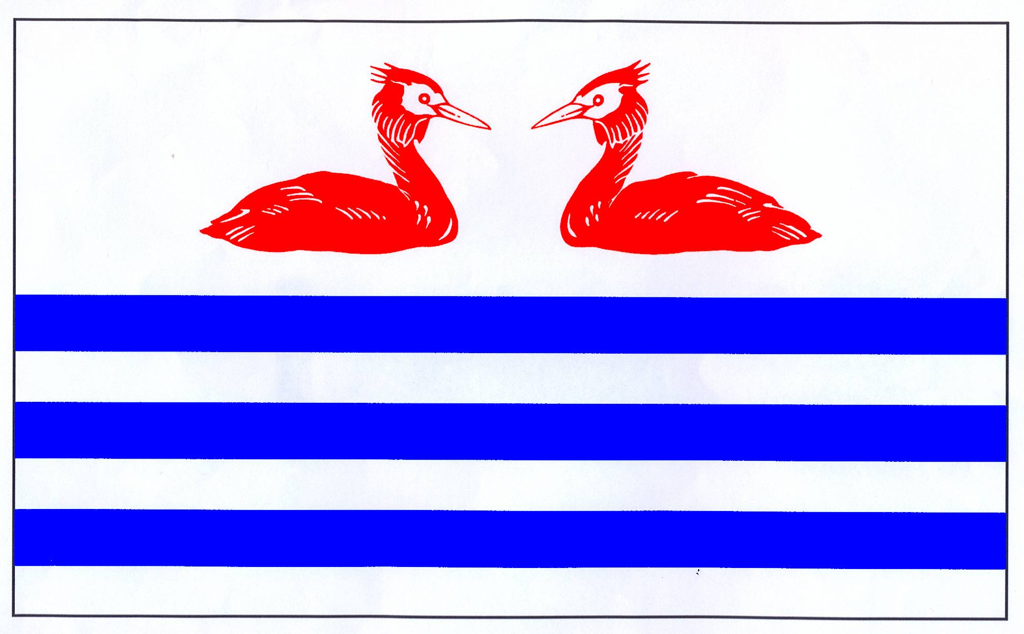 Flagge GemeindePassade, Kreis Plön