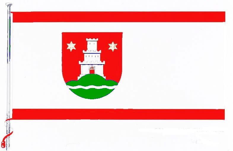 Flagge StadtPinneberg, Kreis Pinneberg