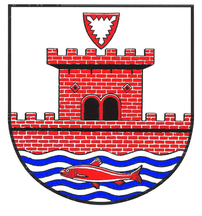Wappen StadtPlön, Kreis Plön
